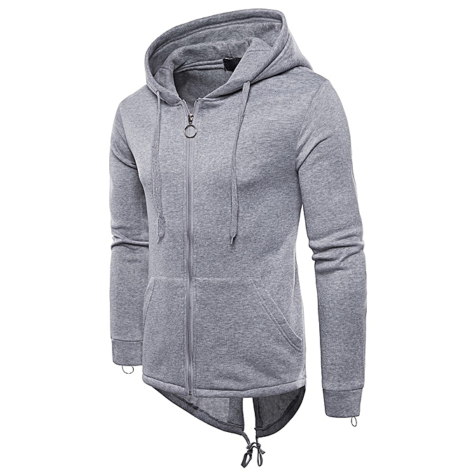 f5404d540 douajso Mens Casual Autumn Long Sleeve Pullover Sweatshirt Hoodie Zipper  Coat Top ...