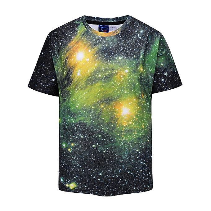 3D T-shirt Men/Women Summer Tees Print Color Blocks 3d T shirt Fashion  Brand Tshirts-stars