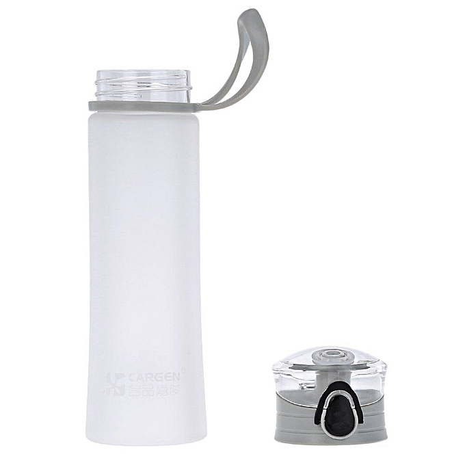 Water Bottle Kenya: Cargen MC013 450ML Portable Candy Color Plastic Outdoor