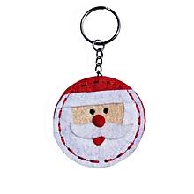 Christmas Santa Claus Snowman Keychain Pendant Handbag Charm Key Ring A