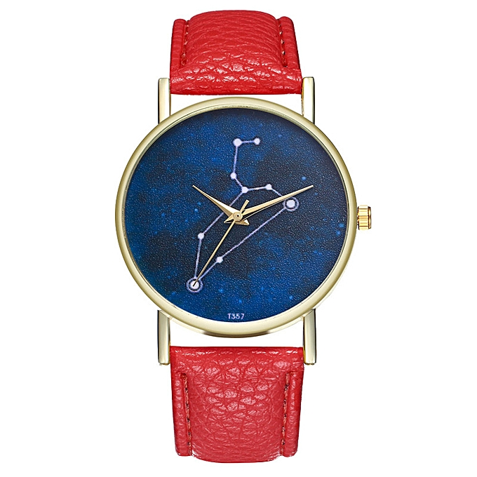 Generic Star Sky Leo Horoscope Watch Watch Lady Watch Man The Curren