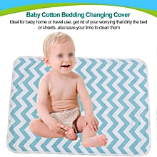 Baby Cotton Urine Mat Diaper Nappy Bedding Changing Cover Pad B
