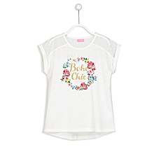 White Fashionable Standard T-Shirt