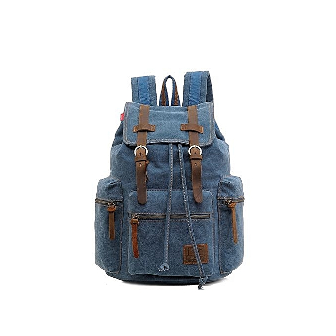 d0f30dfd2f Generic Refined Fashion Men s Backpack Vintage Canvas Men s Travel Bags    Best Price