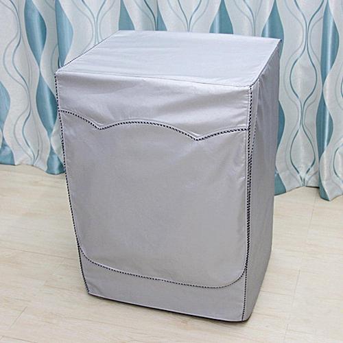 Washing Machine Cover Automatic Turbine Roller Dustproof Sunscreen  Waterproof # M