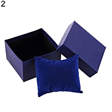 Cardboard Present Gift Box Case For Bangle Jewelry Ring Earrings Wrist Watch