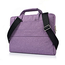 15 Inch Laptop Sleeve, Hand Bag Nylon Pouch Case For Macbook Air 15.4 Lenovo Laptop All Notebook, Purple