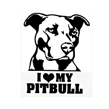 Waterproof Pitbull Car Stickers Auto Truck Vehicle Motorcycle Decal-