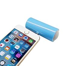 Speaker 3.5mm Music Player Stereo Speaker For iPod iPhone6 Plus Note4 Cellphone BU-Blue