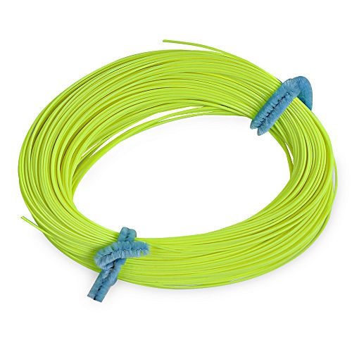 Fl001 30 5m weight forward floating fly fishing line for Fluorescent fishing line