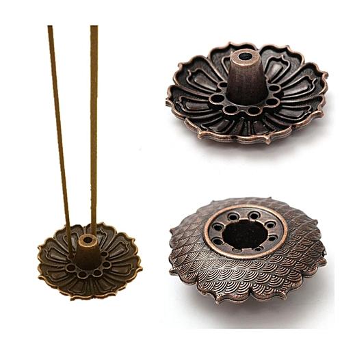 9 Holes Lotus Flower Incense Burner Holder Plate For Stick & Cone Incense