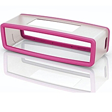 Travel Box Silicone Carry Case Bag for BOSE SoundLink Mini Bluetooth Speaker HOT-hot pinK