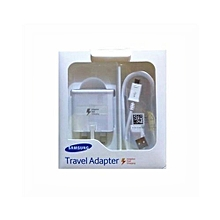 Double Flash Charger - White