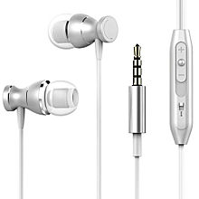 In-Ear Headphone, Smart HiFi Headset Piston Basic Edition In-Ear Earphone Stereo Bass Sound Noise Isolating With Mic & Volume Control Smart Key Button For Phone Computer MP3/4 Music Player