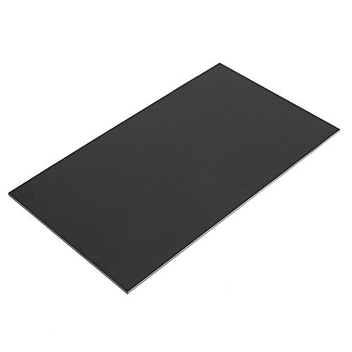 2PCS 170x300mm Black Glassfibre Sheet Epoxy Glass FR4 Fibreglass Plate 3mm