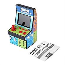CO Children's gift educational toys mini arcade handheld 8 NES game-multicolour