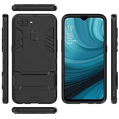 online retailer 5f59b e48bf OPPO A7 Case TPU + PC Case Phone Cover