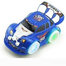 Baby Kids Clockwork Funny Toy Cartoon Puppy LED Car Educational Toys