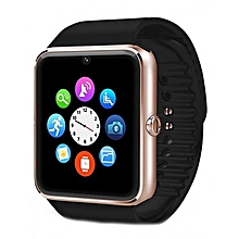 Smartwatch GT08 - Bluetooth Smart Watch Phone - Gold & Black