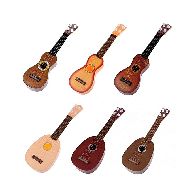 Plastic Toy Musical Instruments : Kids baby mini plastic guitar toys musical instrument toy