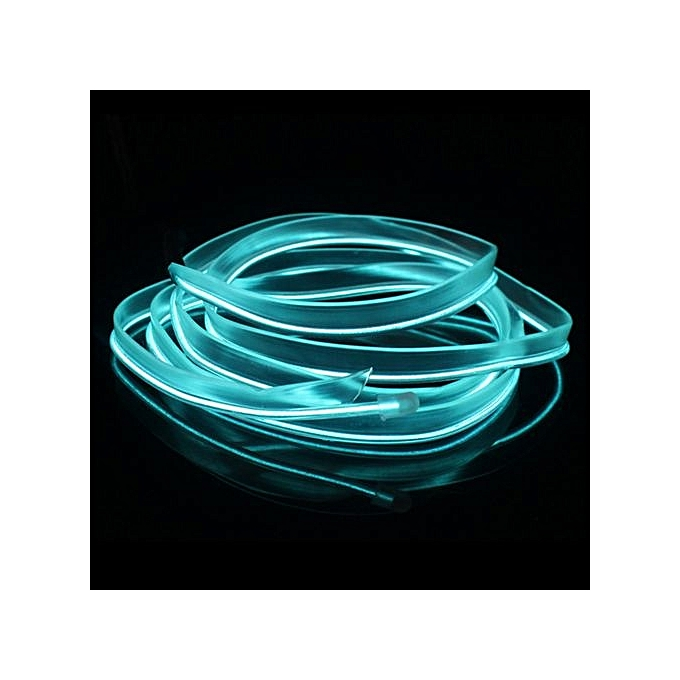 Buy UNIVERSAL 5M Flexible Neon Light Car EL Wire Rope Tube LED Strip ...