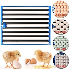 Chicken Eggs 360° Turner Automatic Duck Quail Bird Poultry Egg Incubator Tray