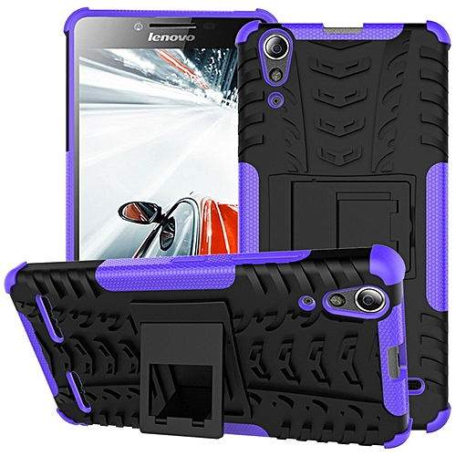 Generic For Lenovo A6000 Pc Tpu 2 In 1 Hybrid Combo Armor Rugged