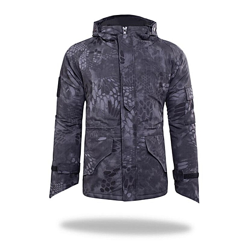 Generic Men Outdoor Windproof Army Military Jacket G8 Python Camouflage  Jackets Tactical Camo Python Jacket 7deb4726ed2