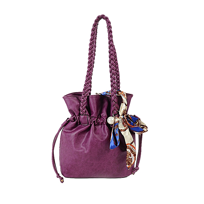 56c01a032f8fa Meibaol Store Womens Leather Satchel Cross Body Shoulder Messenger Bag  Handbag Shopping Bag-Purple