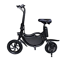 Electric Scooter, eScooter LED screen, Scooter Aluminium alloy, 25km/h, 20km range - Black
