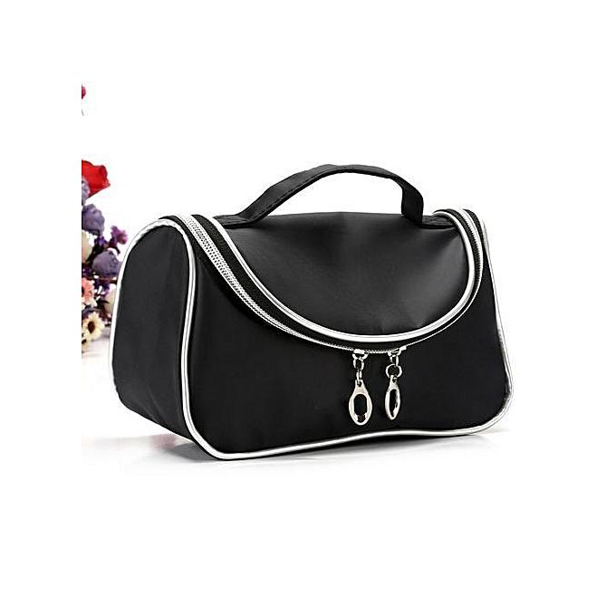 5605e5e1ee Women Nylon Makeup Cosmetic Case Pouch Toiletry Bag Travel Handbag Organizer
