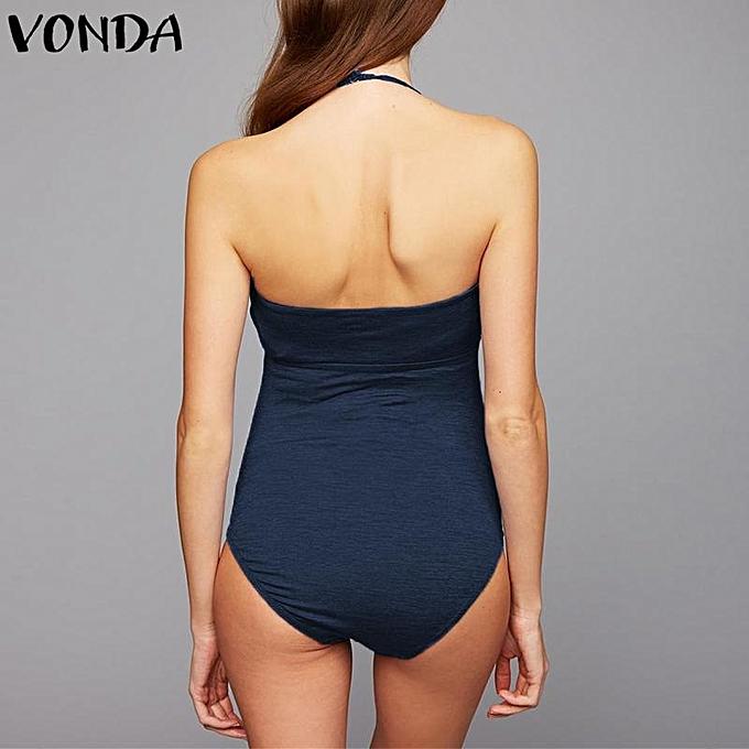 Buy Generic Vonda Maternity Pregnant Women Halterneck Swimwear