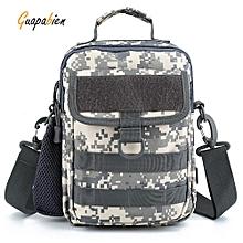 Guapabien Man's Multifunctional Crossbody Bag Chest Pack-ACU CAMOUFLAGE