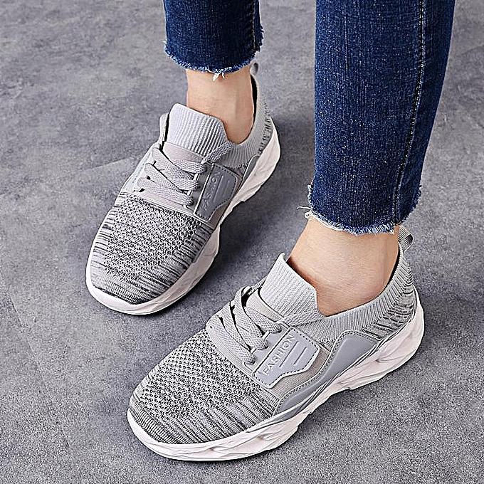 e17506d3ba878 Fashion Women's Lightweight Athletic Running Shoes Walking Casual Sports  Knit Workout Sneakers