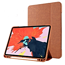 """Magnetic Smart Stand Case Folio Cover for 2018 Apple 11"""" iPad Pro 3rd Gen. w/ Apple Pencil Slot Mll-S"""