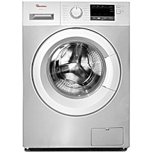 RW/144-Front Load Fully Automatic 7Kg Washer 1400 RPM- Silver