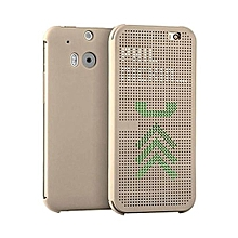 Desire 620 - Dot View Touch Sense Case - Gold