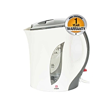 MKT1001 - Kettle, Corded Electric, 1.7L - White & Grey