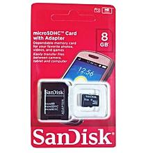 SDHC Memory Card- 8GB