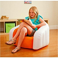 Junior Inflatable Cafe Club Chair - Orange