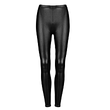 Sexy Women Faux PU Leather Leggings Skinny Pencil Pants Tights Trousers