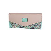 Green Floral Women Wallet