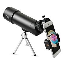 IPRee? Travel 16x52 Waterproof Monocular Bird Watching Telescope Spotting Scope for Outdoor Sports Type B(Telescope+Tripod+Phone folder)