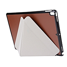 Folding Stand Painted Leather Case Cover For Ipad 9.7Inch 2017 Tablet BW