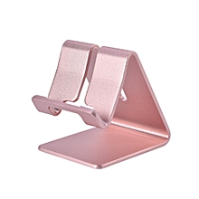 Universal Aluminum Phone Stand Holder for iPhone Samsung ipad Tablet PC Z1 Rose Gold