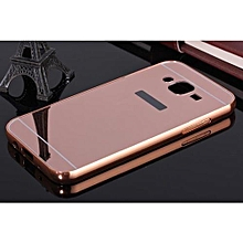 Mirror Board Phone Case For Samsung Galaxy J5 -Rose Red