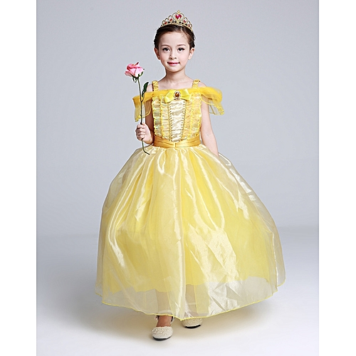 Dress For Kids Costume Rapunzel Party Wedding S Princess Belle Sleeping Beauty