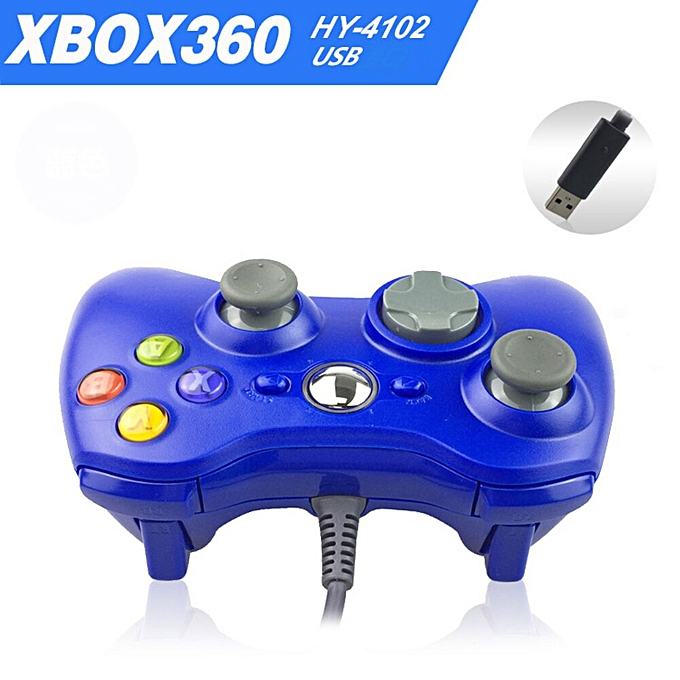 USB Wired Gamepad For Xbox 360 Controller Joystick For Official Microsoft  PC Controller For Windows 7 8 10 DNSHOP