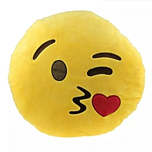 Emoji Throw Cushion - KISS