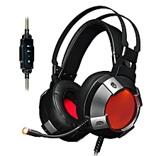 Ajazz AX361 Virtual 7.1 Channel Surround Sound USB Wired LED Light Gaming Headphone Headset
